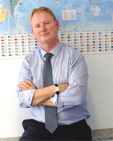 Christopher Hanson - Fundador de Ingles de Mar